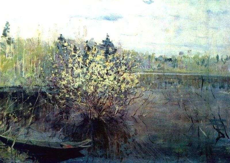 Willows in flood   Nikolay Romadin