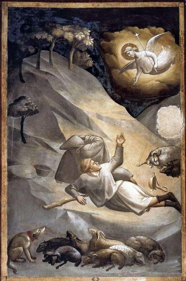 Ewangelizacja pasterzom   Taddeo Gaddi