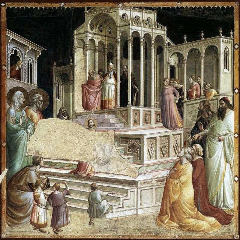 Wprowadzenie Maryi do świątyni   Taddeo Gaddi