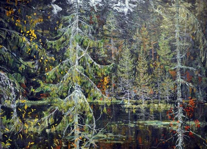 Forest Lake   Nikolai Romadin
