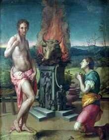 Pygmalion i Galatea   Agnolo Bronzino