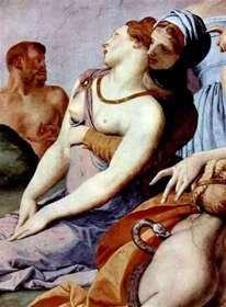 Kult krzyża z brązowym wężem (fresk)   Agnolo Bronzino