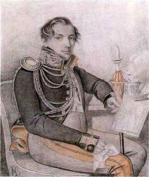 Portret Konovnitsyn Peter Petrovich   Karl Gampeln