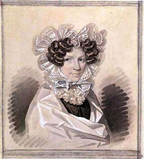 Portret mędrca Zofii Kharitonovny   Karla Gampelna