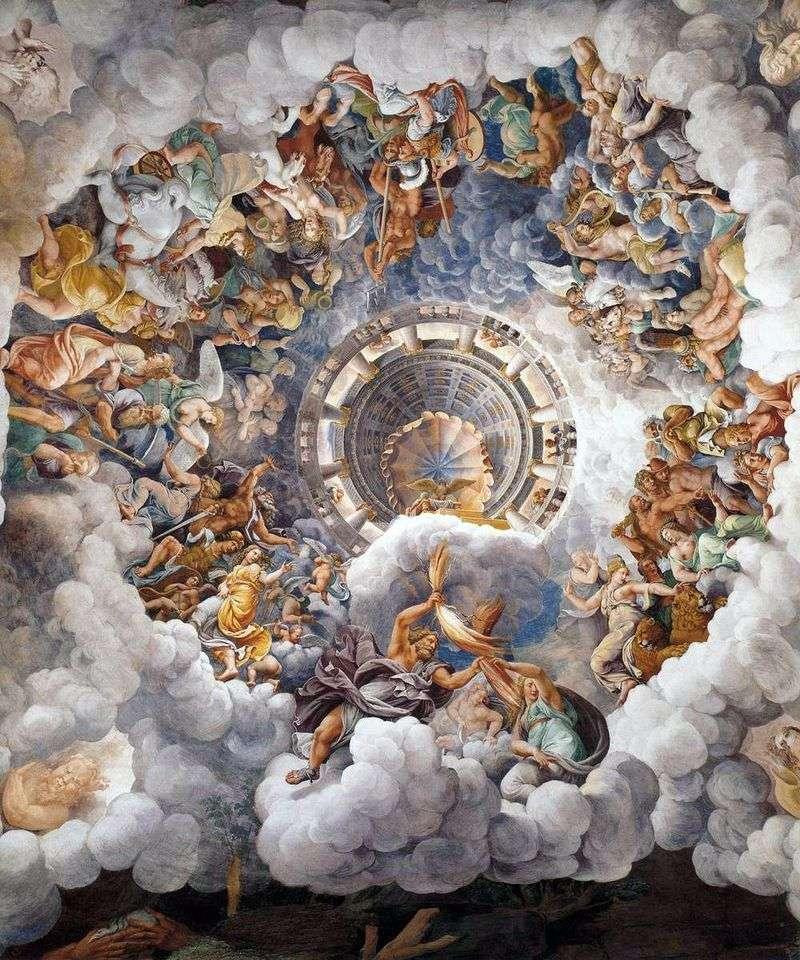 Bogowie olimpijscy   Giulio Romano
