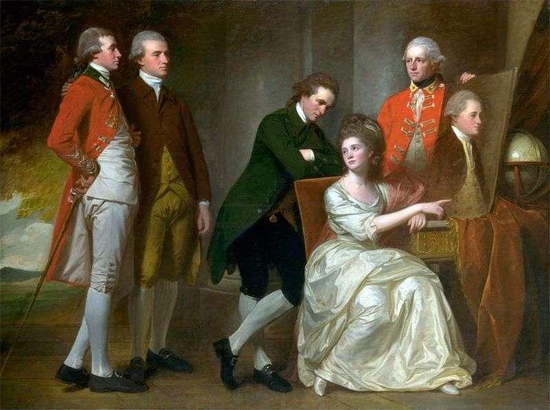 Portret rodziny Beaumontów   George Romney